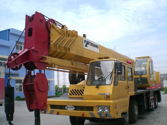 Secondhand truck Crane GT-650E +8618221102858