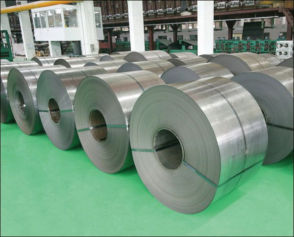 Cold rolled plate in coil, in box