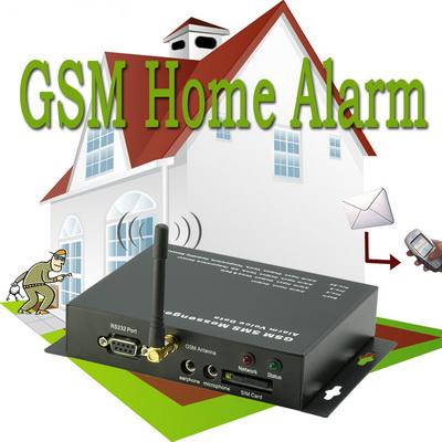 GSM Home Alert System