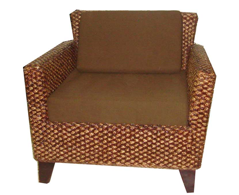 Water Hyacinth Sofa Click On Image To Enlarge