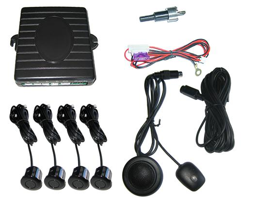 Buzzer parking sensor system