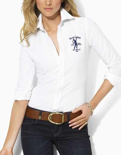 Slim Chelsea Oxford Icon Shirt