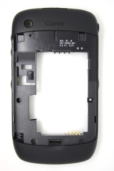 Blackberry 8520 9300 Middle Cover , Black