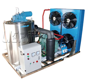 flake ice machine for marine fishery