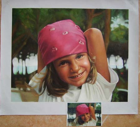 portrait painting. portrait oil painting ,oil
