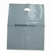 Plastic Shopping Bag with Die-cut Handle