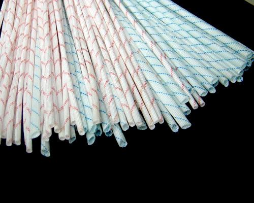 2715-Fiberglass sleeving coated with polyvinyl chloride resi