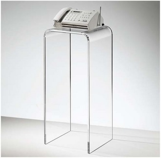 Exceptional Acrylic/perspex/plexiglass/lucite Pedestals/table Display/te