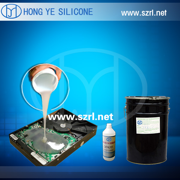 Black Color PCB Electronic Potting Silicone