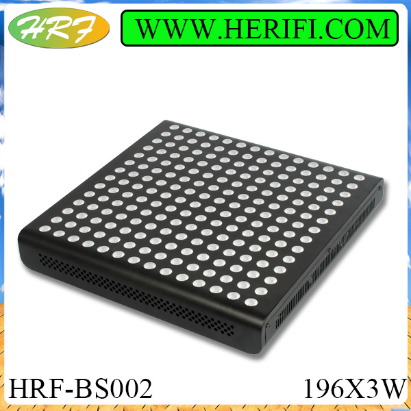 2015 herifi BS002 Gemstone series196X3W led grow light plant