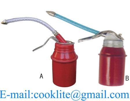 High Pressure Oiler / Pump Oiler / Metal Gravy Boat