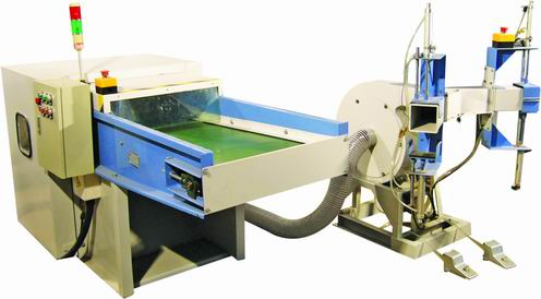 Fiber carding &pillow filling machine