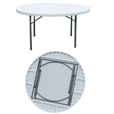 6ft Round Plastic Folding Table 6ft Round Plastic Folding