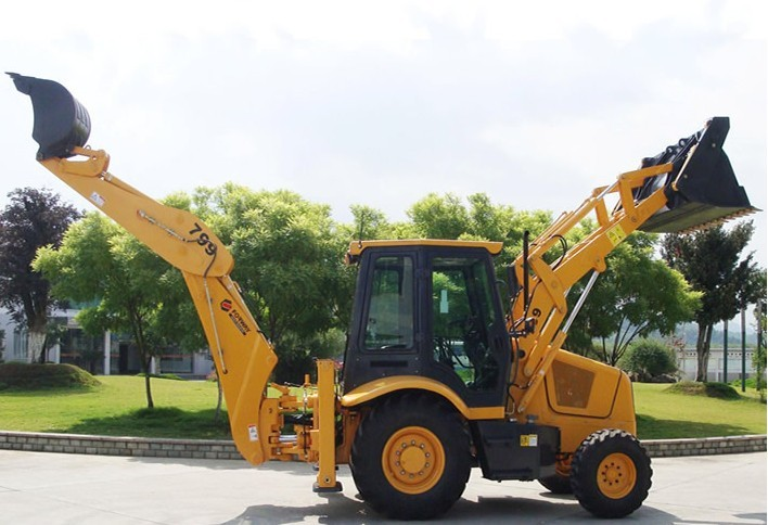 FW799 backhoe loader