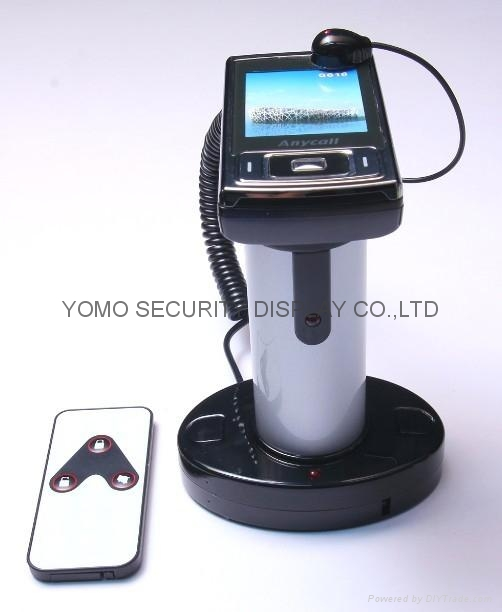 Alarm and Charging for mobile phone display