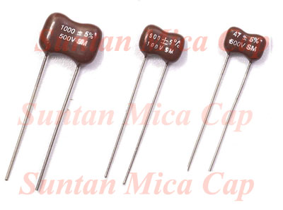 Suntan SM Silver Mica Capacitors with high reliability