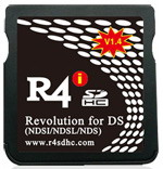 R4 SDHC game card for NDSL,NDSi