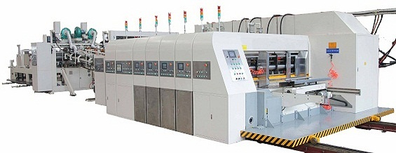 Automatic Flexo Printer Slotter Rotary Die Cutter and In-Lin