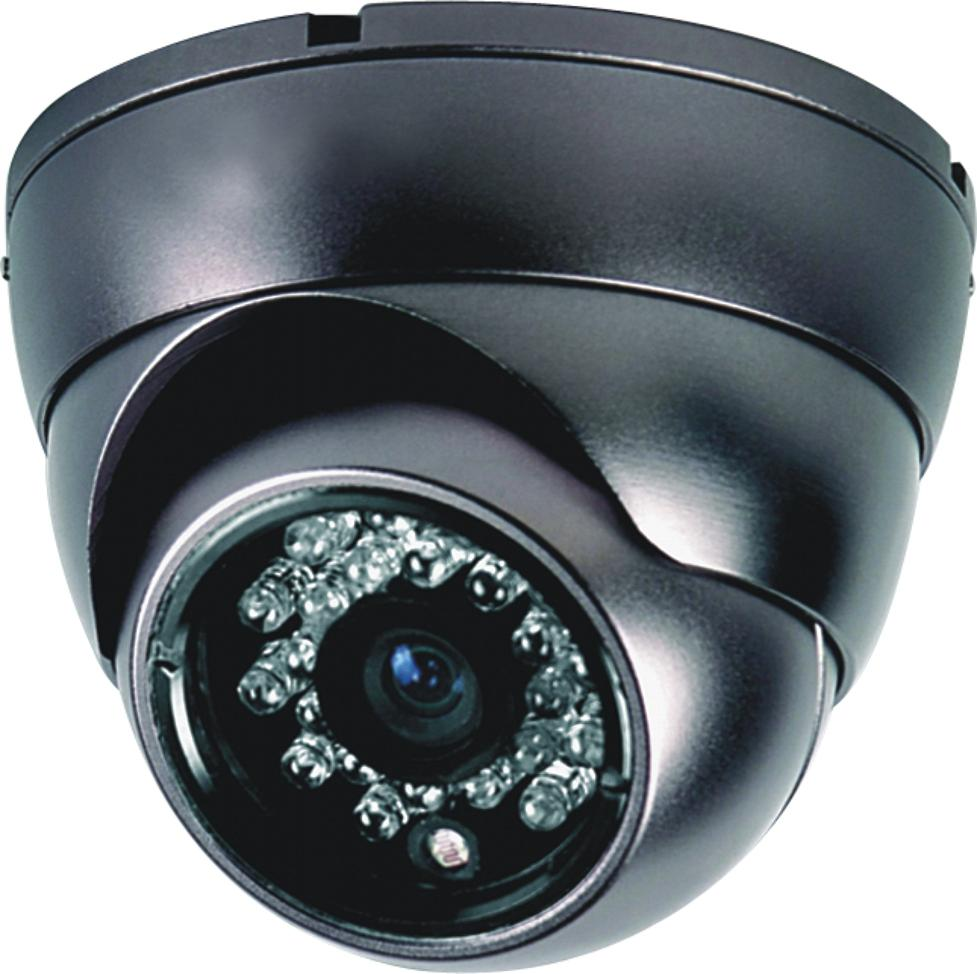 Color IR Dome ccd  camera