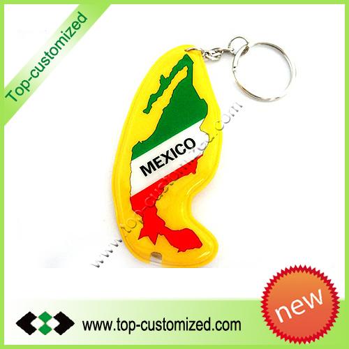 Custom PVC Rubber Keychain
