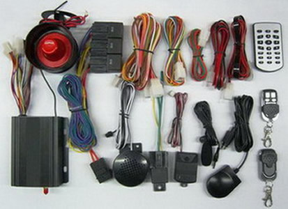 GSM GPS car alarm