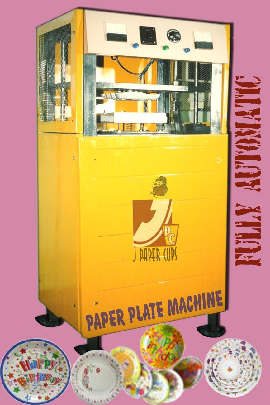 paper plates machine