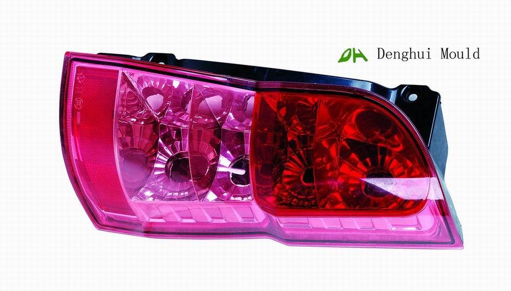 Car lamp plastic mould
