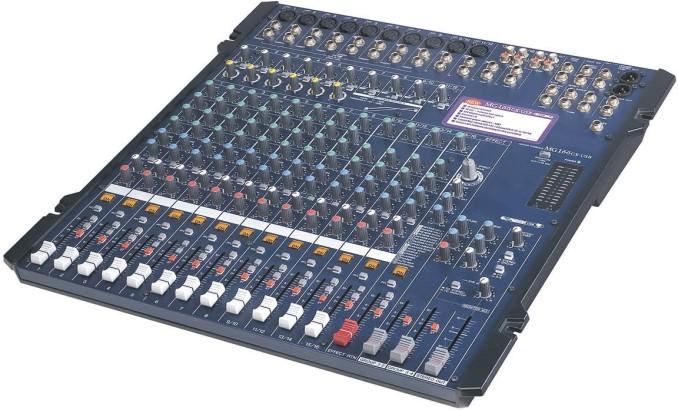 Professional Sound Mixer MG-166CX-USB