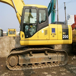 Used Komatsu PC200 Excavator