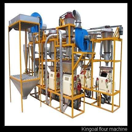 25ton everyday complete set wheat flour milling machine