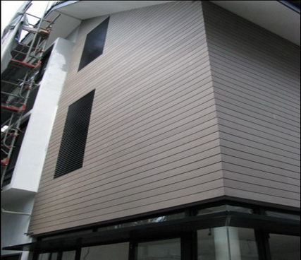Outdoor Wpc Wall Siding Wpc Wall Cladding