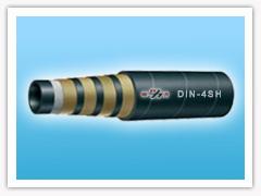 spiral hydraulic hose (DIN-4SH)