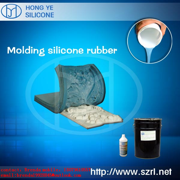 Rtv Liquid Moulding Silicone Rubber( for Concrete, PU Resin