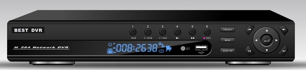 9ch hybrid NVR HVR HDMI WIFI/3G