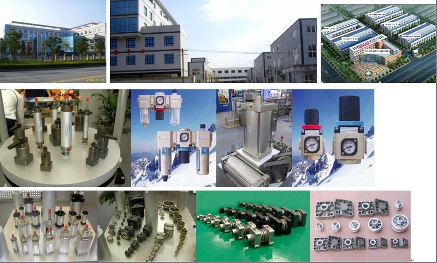 pneumatic cylinder,air cylinder,(pneumatic cylinder)DNC Seri