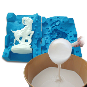 RTV Silicone Rubber for Sculpture Mold with SGS, MSDS, RoHS