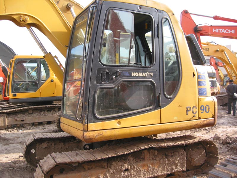 Sell original binding used Komatsu PC60-7 excavator