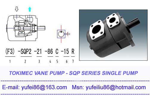 SQP vane pump,Tokimec vane pump,SQP single vane pump,hydraul