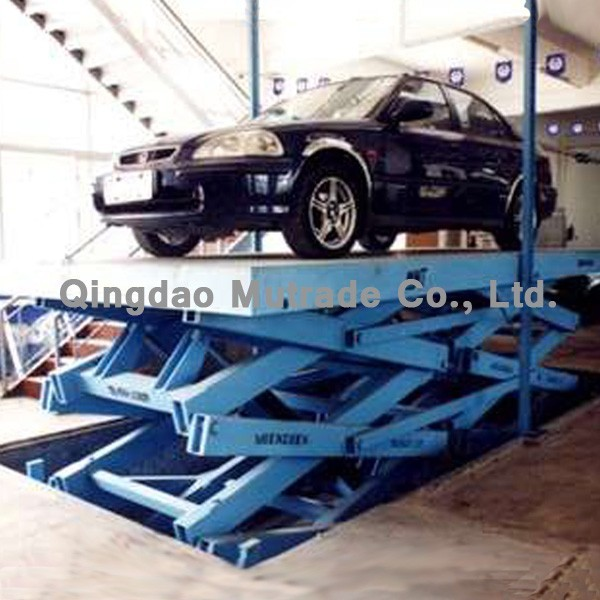 Scissor Type Elevator Car Lift Parking Equipment
