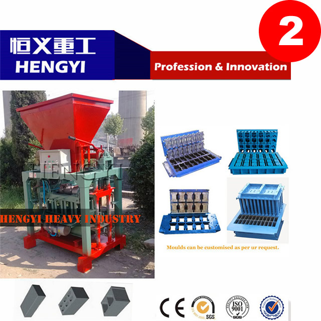 QT4-35 Concrete block making machine