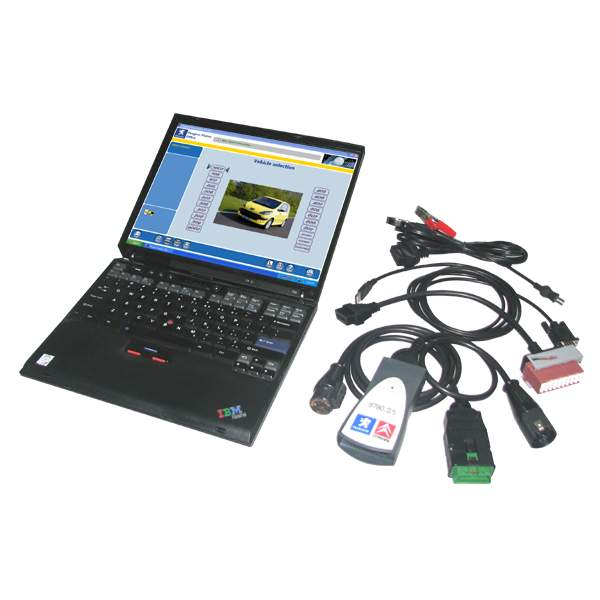 This diagnostics software allows you to perform complete diagnostics of all