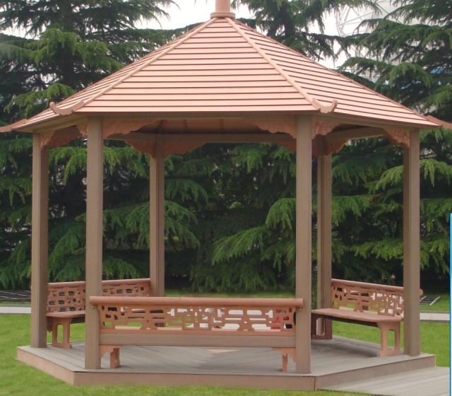 Wood Plastic Pavilion