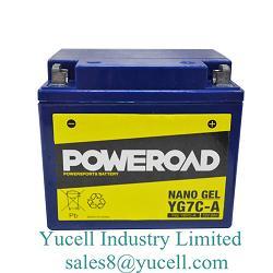 Motorcycle Battery True Nano GEL YG7C-A