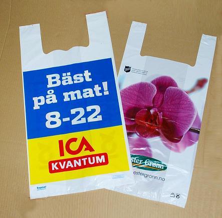Vest carrier plastic bag t shirt plastic bag singlet for Wholesale t shirt bags