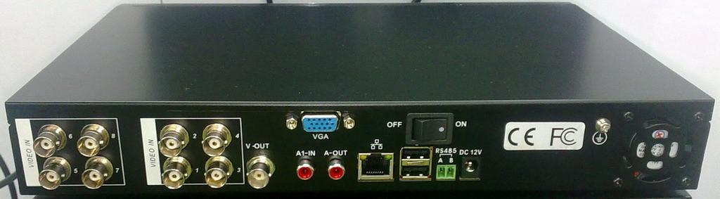 8CH H.264 DVR Surveillance Security CCTV DVR System