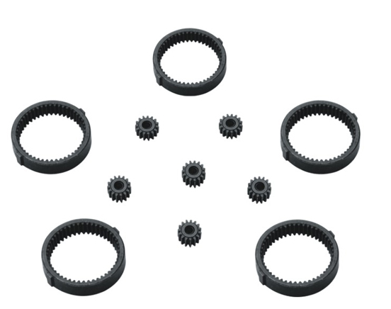 Carter gear, gear ring