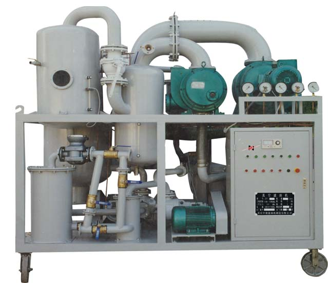 Single-stage Vacuum Insulating Oil Purifier/Oil Filtration