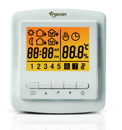 TX188 7-days time programmable heating thermostat
