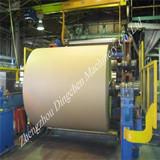 2400 multi-cylinder and long-mesh kraft paper machin