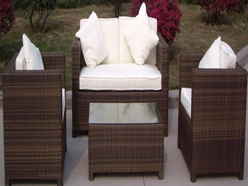 rattan sofa set ESR-9623